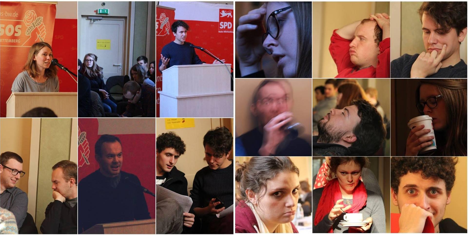 Jusos-Sitzung am 15.6.2016